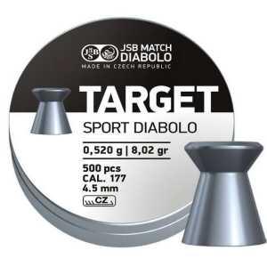 Пули пневматические JSB Diabolo Target Sport 4.5мм