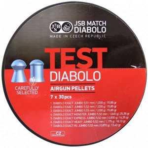 Пули пневматические JSB Diabolo Test Exact Jumbo 5.5мм