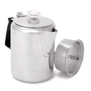 Кофеварка GSI Glacier Perc 9 W/Silicone Handle