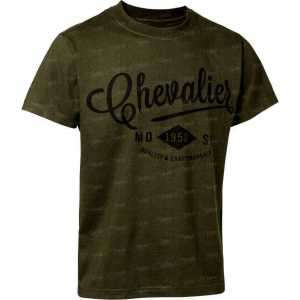Футболка Chevalier Marshall. Размер - M. Цвет оливковый.