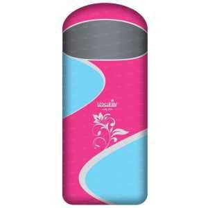 Спальный мешок Norfin LADY 350 0°- (-10°) / 180х70см / NFL L ц:голубой/розовый