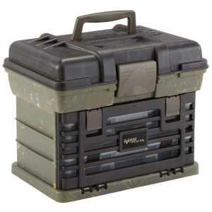 Коробка Plano Bone Collector Shooter, для патронов и принадлежностей, зеленый/черный