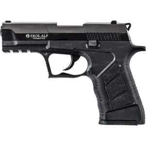 Пистолет стартовый EKOL ALP кал. 9 мм. Цвет - черный