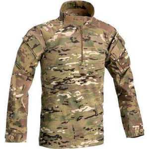 Рубашка Defcon 5 COOL COMBAT SHIRT COTONE ELASTICIZZATO MULTICAMO. Размер - M. Цвет - мультикам