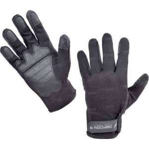 Перчатки Defcon 5 SHOOTING AMARA GLOVES WITH REINFORSED PALM BLACK. Размер - XL. Цвет - черный