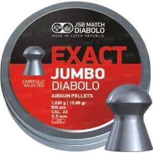 Пули пневматические JSB Diabolo Exact Jumbo