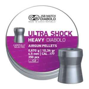 Пули пневматические JSB Heavy Ultra Shock