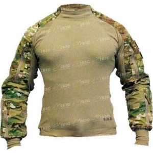Рубашка SOD Spectre DA Combat Shirt. Размер - L. Цвет - multicam/olive