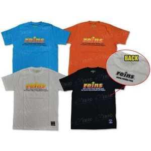 Футболка Reins REINS Logo T-shirt L ц:оранжевый