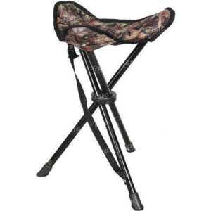 Складной стул Allen Three Leg Folding Stool. Размеры: 43 см (17 дюймов).