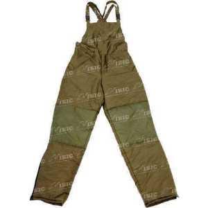 Брюки Snugpak Salopette Rev Full Zip. размер - 2XL. цвет - зелёный/коричневый