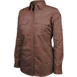 Рубашкa BLACKHAWK! Tactical Shirt. Размер - L. Цвет -тёмно-коричневый
