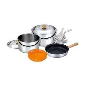 Н-р посуды Kovea VKC-ST08-67 Stainless Cookset XL на 6-7 человек