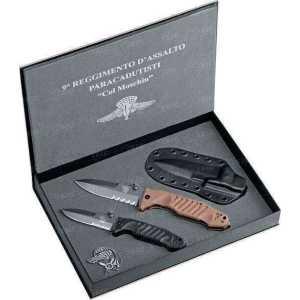 Набор из 2х ножей Fox FKMD Col Moschin Limited Edition