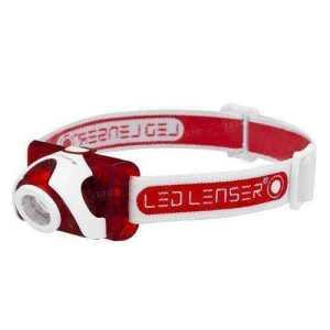 Фонарь налобный LED LENSER 6006 SEO5 180 lm red