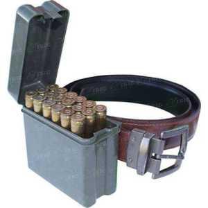 Коробка MTM RL-20 на 20 патронов кал. 6,5x284 Norma; 7mm Rem Mag;  300 Win Mag; 300 Wby Mag и 338 Win Mag. Цвет – камуфляж.