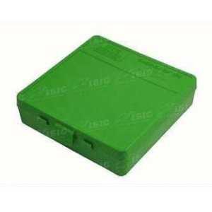 Коробка для патронов MTM кал. 9мм; 380 ACP. Количество - 100 шт. Цвет - зеленый
