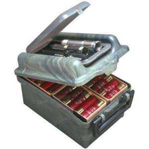 Коробка MTM Shotshell/Choke Tube Case для комплекта сменных чоков и 100 патронов кал. 12/76. Цвет – камуфляж.
