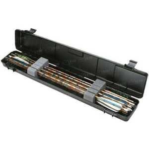 Кейс пластмассовый MTM Ultra Compact Arrow Case для 12 стрел. Размеры – 84х15х8 см. Цвет – черный.