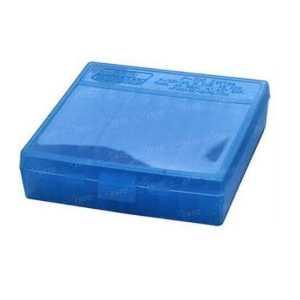 Коробка для патронов MTM кал. 45 ACP; 10мм Auto; 40 S&W. Количество - 100 шт. Цвет - голубой