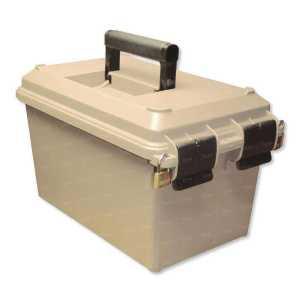 Коробка MTM Tactical Magazine Can на 15 магазинов для AR-15. Цвет - песочный