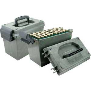 Коробка MTM Shotshell Dry Box на 100 патронов кал. 12/76. Цвет – камуфляж
