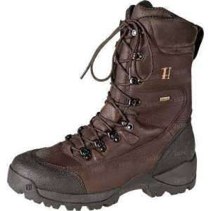Ботинки Harkila Big Game GTX 10`L insulated. Размер - 9,5. Цвет -тёмно-коричневый.