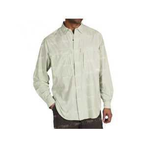 Рубашка Exofficio BA Halo Check LS LT Aloe XL