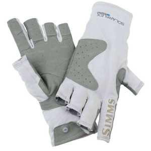 Перчатки Simms Solarflex Guide Glove Grey L