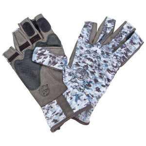 Перчатки Buff Angler II Gloves Camo L/XL