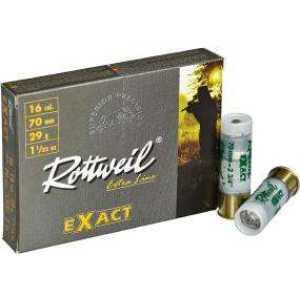 Патрон Rottweil Exact кал.16/70 пуля Gualandi масса 29 г