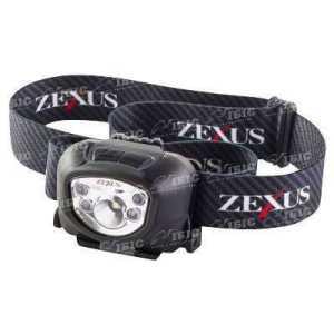 Фонарь налобный Zexus ZX-260 BK 180 lm ipx4 ц:black