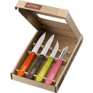 001452 Набор ножей Opinel Les Essentiels 50's