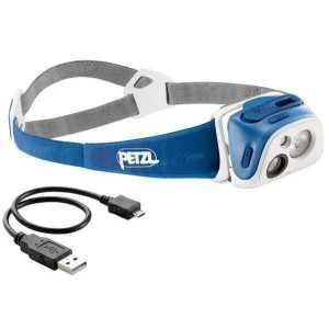 Фонарь налобный Petzl E 92 RB Tikka R+ blue 135 lm
