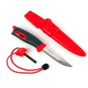 Нож-огниво Light my fire FireKnife Pin-pack Red