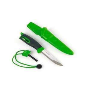 Нож-огниво Light my fire FireKnife Black Pin-pack Green