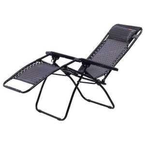 Шезлонг KingCamp Deck Chair black