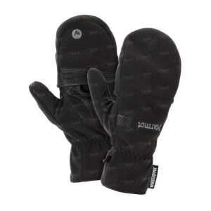 Перчатки MARMOT Windstopper convertible glove black ц:black