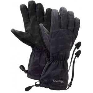 Перчатки MARMOT Precip shell L black/gargoyle