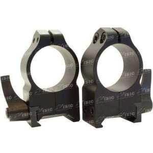 Кольцa быстросъемные Warne MAXIMA Quick Dedach Rings 25,4 мм. Под планку Weaver/ Picatinny. Высота High (под объективы 42-52 мм). Сталь.