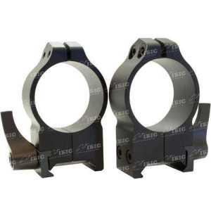 Кольцa быстросъемные Warne MAXIMA Quick Dedach Rings 30 мм. Под планку Weaver/ Picatinny. Высота High (под объективы 42-52 мм). Сталь.