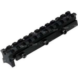 База крепления UTG (Leapers) MNT-DN034 для пневматической винтовки. С большим занижением ствола. Длина - 125 мм. Высота - 22,8 мм. Ширина - 20,3 мм