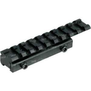 База крепления UTG (Leapers) для пневматической винтовки. Без занижения ствола. Профиль - Weaver/Picatinny. Длина - 99 мм