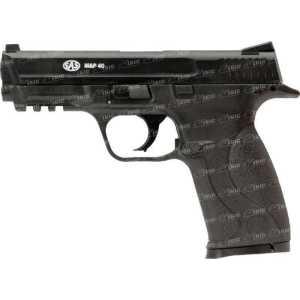 Пистолет пневматический SAS (S&W MP-40). Корпус - пластик