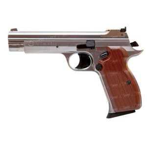 Пистолет пневматический SAS P 210 Silver Blowback! Корпус - металл