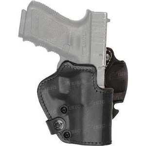 Кобура Front Line LKC для Glock 26/27/28. Материал - Kydex/кожа/замша. Цвет - черный