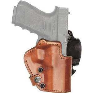 """Кобура Front Line LKC для револьвера 2"""". Материал - Kydex/кожа/замша. Цвет - коричневый"""