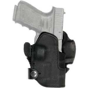 Кобура Front Line KNGxxSR с замком для Glock 19/23/32. Материал - Kydex. Цвет - черный