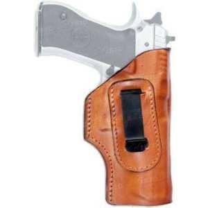 Кобура Front Line FL32 для Glock 43. Материал - кожа. Цвет - коричневый