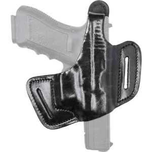 Кобура Front Line FL90995 для Glock 43. Материал - кожа. Цвет - черный
